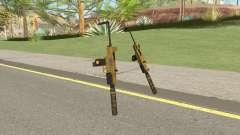 Micro SMG (Luxury Finish) GTA V Suppressor V3 для GTA San Andreas