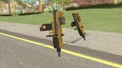 Micro SMG (Luxury Finish) GTA V Scope V1 для GTA San Andreas