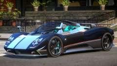 Pagani Zonda GT Roadster для GTA 4