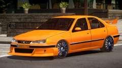 Peugeot 406 Taxi V1.0 для GTA 4