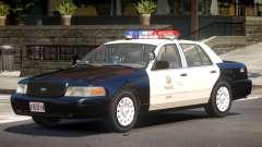 Ford Crown Victoria Police V1.2 для GTA 4