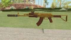 Assault Rifle GTA V (Three Attachments V11) для GTA San Andreas