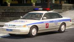 Ford Crown Victoria Police V1.0 для GTA 4