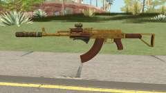 Assault Rifle GTA V (Three Attachments V6) для GTA San Andreas