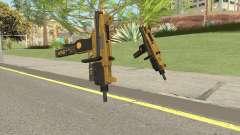 Micro SMG (Luxury Finish) GTA V Flashlight V2 для GTA San Andreas