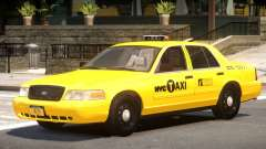Ford Crown Victoria Taxi V1.1 для GTA 4
