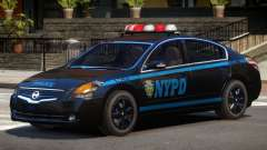 Nissan Altima Police V1.0 для GTA 4