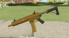 Carbine Rifle GTA V (Luxury Finish) Base V3 для GTA San Andreas