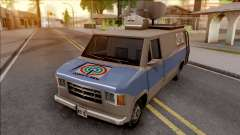 News Van ABS CBN для GTA San Andreas
