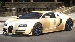 Bugatti Veyron 16.4 GT PJ1 для GTA 4