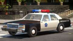 1987 Ford Crown Victoria Police V1.0 для GTA 4