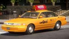 Ford Crown Victoria Taxi V1.0 для GTA 4