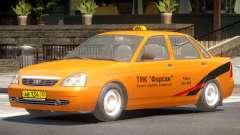 Lada Priora Taxi V1.0 для GTA 4
