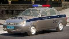 Lada Priora Police V1.0 для GTA 4