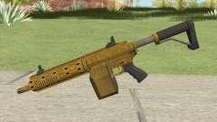 Carbine Rifle GTA V (Luxury Finish) Base V1 для GTA San Andreas