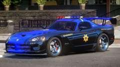 Dodge Viper SRT Police V1.0 для GTA 4