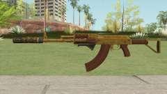 Assault Rifle GTA V (Three Attachments V2) для GTA San Andreas