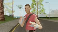 Scout From Team Fortress 2 для GTA San Andreas