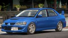 Mitsubishi Lancer Evolution 8 Tuned для GTA 4