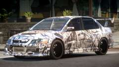 Mitsubishi Lancer Evolution 8 RS J5 для GTA 4