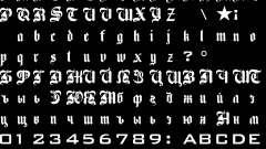 HD шрифты для русификатора от SanLtd для GTA San Andreas