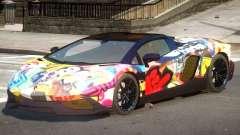 Lamborghini Aventador STR PJ1 для GTA 4