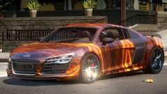 Audi R8 GTS V1.0 PJ1 для GTA 4