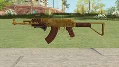 Assault Rifle GTA V (Three Attachments V8) для GTA San Andreas