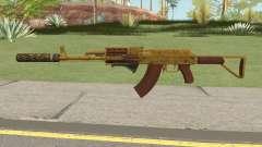 Assault Rifle GTA V (Three Attachments V3) для GTA San Andreas