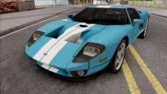 Ford GT 2005 LQ IVF для GTA San Andreas