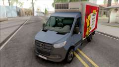 Mercedes-Benz Sprinter 2019 Box Transporter для GTA San Andreas