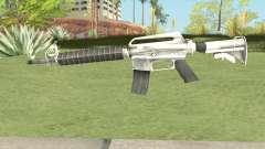 M4 (White) для GTA San Andreas