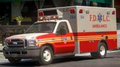 Ford F-350 Ambulance для GTA 4