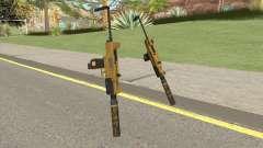 Micro SMG (Luxury Finish) GTA V Suppressor V4 для GTA San Andreas
