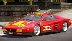Ferrari 512 Testarossa RS для GTA 4