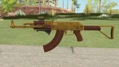 Assault Rifle GTA V (Three Attachments V9) для GTA San Andreas