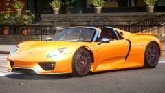 Porsche 918 Roadster V1.0 для GTA 4
