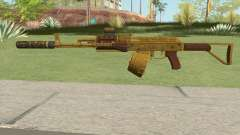 Assault Rifle GTA V (Three Attachments V10) для GTA San Andreas