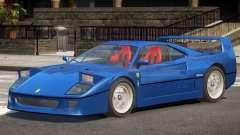 1995 Ferrari F40 V1.0 для GTA 4