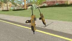 Micro SMG (Luxury Finish) GTA V Scope V3 для GTA San Andreas