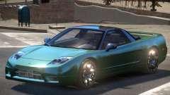 Acura NSX ST для GTA 4