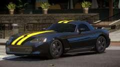 Dodge Viper RT Gold Strip для GTA 4