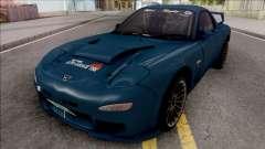 Mazda RX-7 FD3S Efini TBK для GTA San Andreas