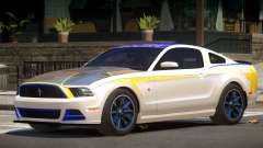 Ford Mustang RS V1.0 PJ3 для GTA 4