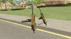 Micro SMG (Luxury Finish) GTA V Scope V4 для GTA San Andreas