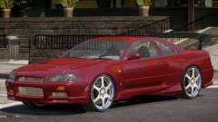 Nissan Skyline GT-R34 RS для GTA 4