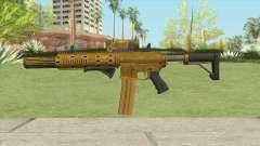 Carbine Rifle GTA V (Luxury Finish) Full V2 для GTA San Andreas