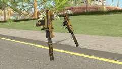 Micro SMG (Luxury Finish) GTA V Two Upgrades V3 для GTA San Andreas