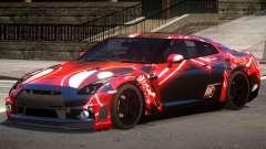 Nissan GT R35 V1.0 PJ2 для GTA 4