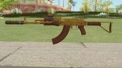 Assault Rifle GTA V (Three Attachments V12) для GTA San Andreas
